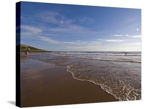 Croyde Bay, North Devon, Devon, England, United Kingdom, Europe-Charles Bowman-Stretched Canvas Print
