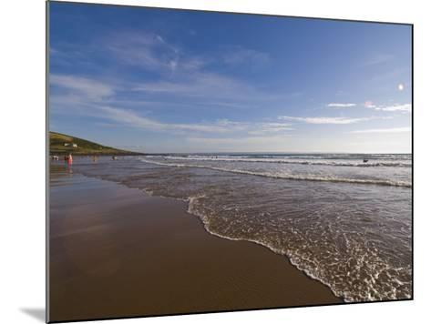 Croyde Bay, North Devon, Devon, England, United Kingdom, Europe-Charles Bowman-Mounted Photographic Print