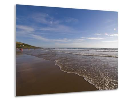 Croyde Bay, North Devon, Devon, England, United Kingdom, Europe-Charles Bowman-Metal Print