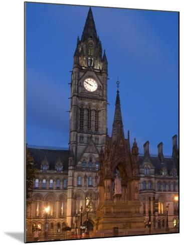 Town Hall, Manchester, England, United Kingdom, Europe-Charles Bowman-Mounted Photographic Print