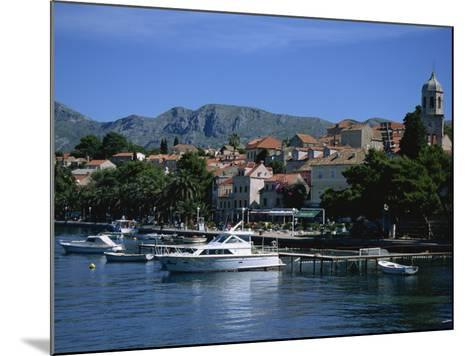 Cavtat Harbour, Dalmatia, Croatia, Europe-Nelly Boyd-Mounted Photographic Print