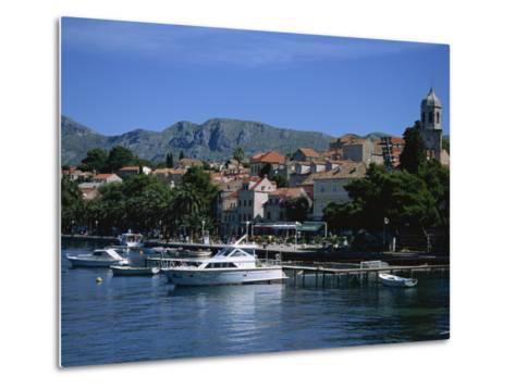 Cavtat Harbour, Dalmatia, Croatia, Europe-Nelly Boyd-Metal Print