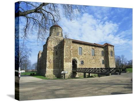 Colchester Castle, the Oldest Norman Keep in the U.K., Colchester, Essex, England, UK-Jeremy Bright-Stretched Canvas Print