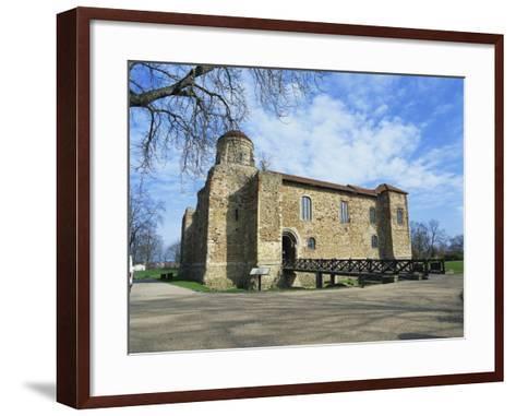 Colchester Castle, the Oldest Norman Keep in the U.K., Colchester, Essex, England, UK-Jeremy Bright-Framed Art Print
