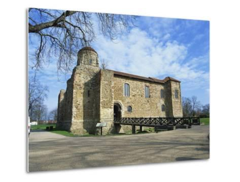 Colchester Castle, the Oldest Norman Keep in the U.K., Colchester, Essex, England, UK-Jeremy Bright-Metal Print