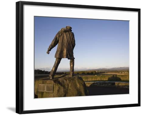 David Stirling Monument, Near Doune, Stirlingshire, Scotland, United Kingdom, Europe-Jean Brooks-Framed Art Print