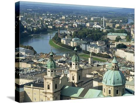 City View from the Fortress, Salzburg, Austria, Europe-Jean Brooks-Stretched Canvas Print
