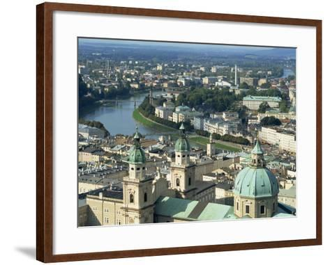City View from the Fortress, Salzburg, Austria, Europe-Jean Brooks-Framed Art Print