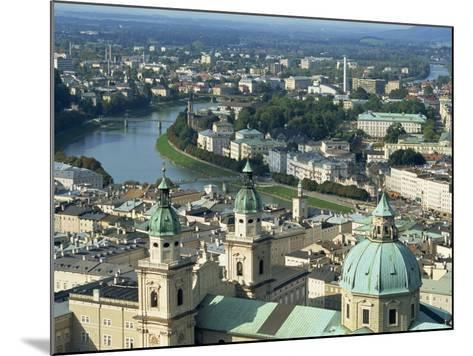 City View from the Fortress, Salzburg, Austria, Europe-Jean Brooks-Mounted Photographic Print