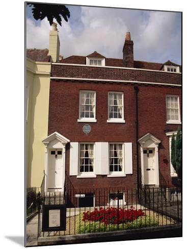 Birthplace of Charles Dickens, Portsmouth, Hampshire, England, United Kingdom, Europe-Jean Brooks-Mounted Photographic Print