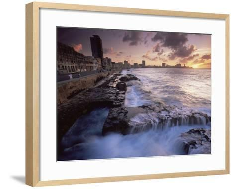 Malecon, Havana, Cuba, West Indies, Central America-Colin Brynn-Framed Art Print