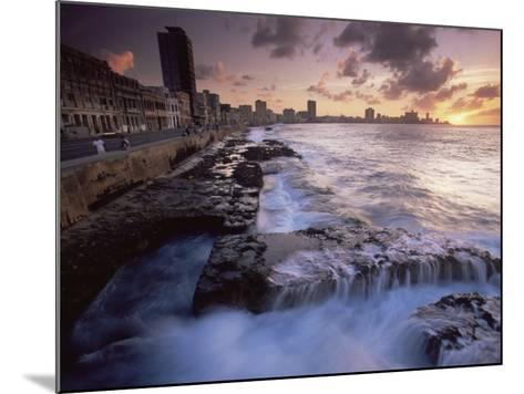 Malecon, Havana, Cuba, West Indies, Central America-Colin Brynn-Mounted Photographic Print