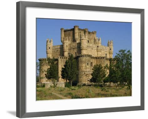 Exterior of the Castle at Guadamur, Toledo, Castile La Mancha, Spain, Europe-Michael Busselle-Framed Art Print