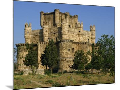 Exterior of the Castle at Guadamur, Toledo, Castile La Mancha, Spain, Europe-Michael Busselle-Mounted Photographic Print