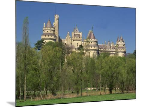 Exterior of the Chateau of Pierrefonds in Aisne, Picardie, France, Europe-Michael Busselle-Mounted Photographic Print
