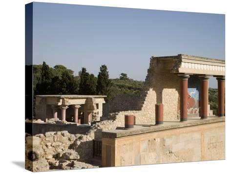 Knossos, Crete, Greek Islands, Greece, Europe-Angelo Cavalli-Stretched Canvas Print