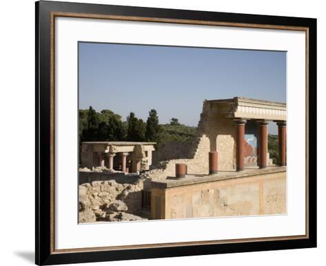 Knossos, Crete, Greek Islands, Greece, Europe-Angelo Cavalli-Framed Art Print