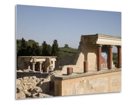 Knossos, Crete, Greek Islands, Greece, Europe-Angelo Cavalli-Metal Print