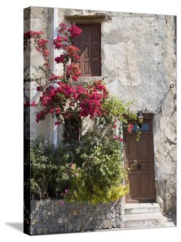 Preveli Monastery, Preveli, Crete, Greek Islands, Greece, Europe-Angelo Cavalli-Stretched Canvas Print