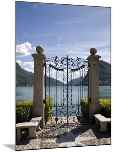 Lugano, Lake Lugano, Tessin Canton, Switzerland, Europe-Angelo Cavalli-Mounted Photographic Print