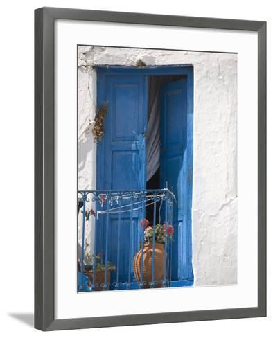 Chora, Mykonos, Cyclades Islands, Greek Islands, Greece, Europe-Angelo Cavalli-Framed Art Print