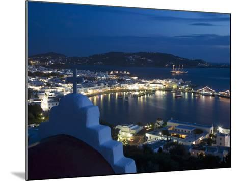Chora, Mykonos, Cyclades, Greek Islands, Greece, Europe-Angelo Cavalli-Mounted Photographic Print