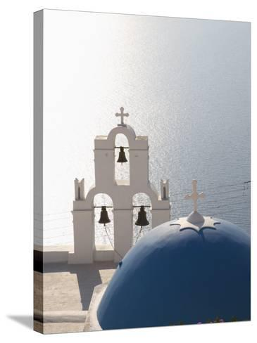 Oia, Santorini, Cyclades Islands, Greek Islands, Greece, Europe-Angelo Cavalli-Stretched Canvas Print