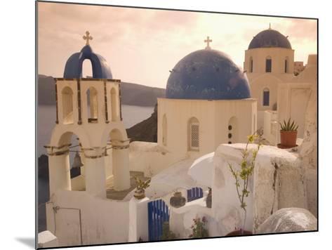 Oia, Santorini, Cyclades, Greek Islands, Greece, Europe-Angelo Cavalli-Mounted Photographic Print