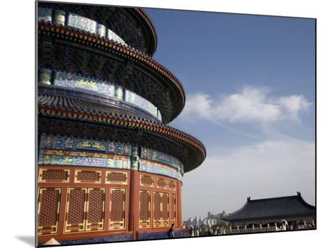 Temple of Heaven, UNESCO World Heritage Site, Beijing, China-Angelo Cavalli-Mounted Photographic Print