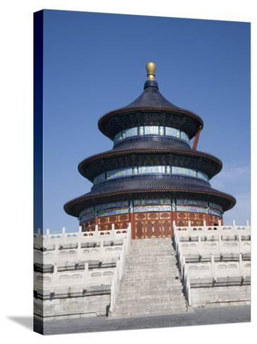 Temple of Heaven, UNESCO World Heritage Site, Beijing, China-Angelo Cavalli-Stretched Canvas Print