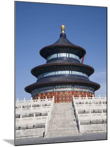 Temple of Heaven, UNESCO World Heritage Site, Beijing, China-Angelo Cavalli-Mounted Photographic Print