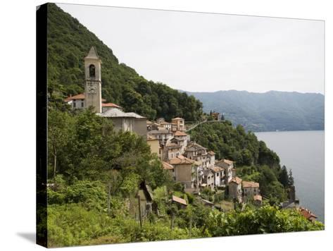 Careno, Lake Como, Lombardy, Italian Lakes, Italy, Europe-Angelo Cavalli-Stretched Canvas Print