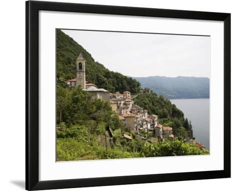 Careno, Lake Como, Lombardy, Italian Lakes, Italy, Europe-Angelo Cavalli-Framed Art Print