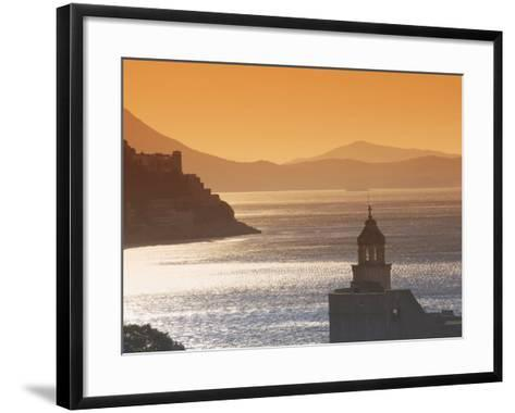 Dubrovnik, Croatia, Europe-Angelo Cavalli-Framed Art Print