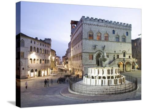 Perugia, Umbria, Italy, Europe-Angelo Cavalli-Stretched Canvas Print