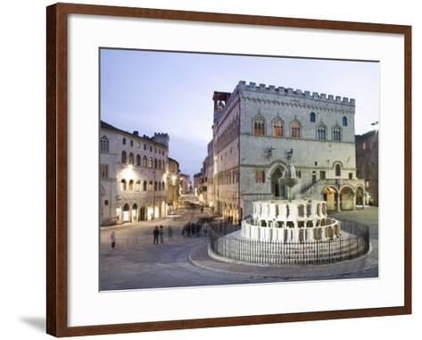 Perugia, Umbria, Italy, Europe-Angelo Cavalli-Framed Art Print