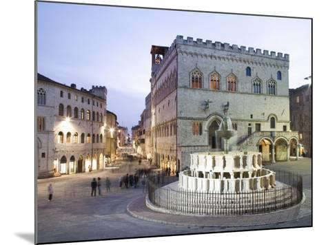 Perugia, Umbria, Italy, Europe-Angelo Cavalli-Mounted Photographic Print