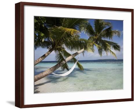 Vilamendhoo Island, Ari Atoll, Maldives, Indian Ocean-Angelo Cavalli-Framed Art Print