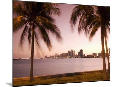 Downtown Miami Skyline at Dusk Miami, Florida, United States of America, North America-Angelo Cavalli-Mounted Photographic Print
