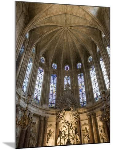 Interior of Cathedrale St.-Nazaire, Beziers, Herault, Languedoc-Roussillon, France, Europe-Martin Child-Mounted Photographic Print