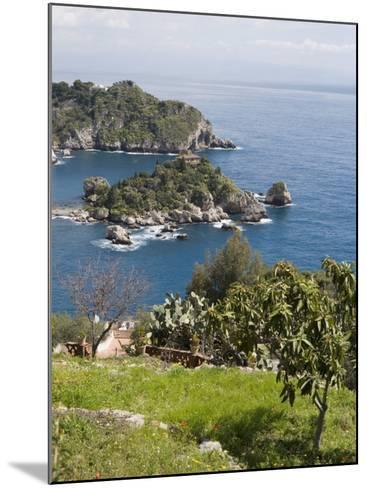 Isola Bella, Mazzaro, Sicily, Italy, Mediterranean, Europe-Martin Child-Mounted Photographic Print