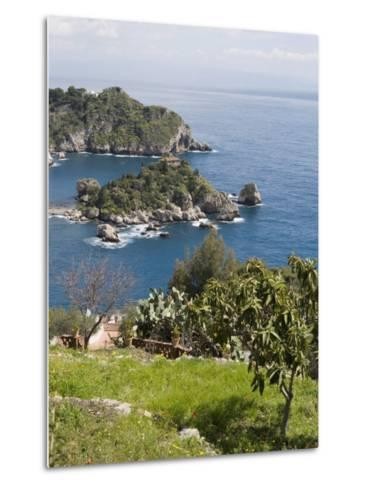 Isola Bella, Mazzaro, Sicily, Italy, Mediterranean, Europe-Martin Child-Metal Print