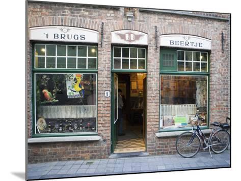 T Brugs Beertje, Bar, Bruges, Belgium, Europe-Martin Child-Mounted Photographic Print