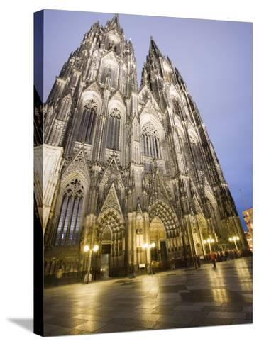Cathedral, UNESCO World Heritage Site, Cologne, Germany, Europe-Martin Child-Stretched Canvas Print