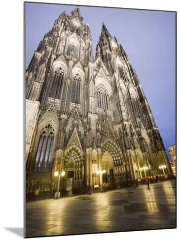 Cathedral, UNESCO World Heritage Site, Cologne, Germany, Europe-Martin Child-Mounted Photographic Print