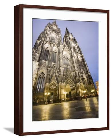 Cathedral, UNESCO World Heritage Site, Cologne, Germany, Europe-Martin Child-Framed Art Print