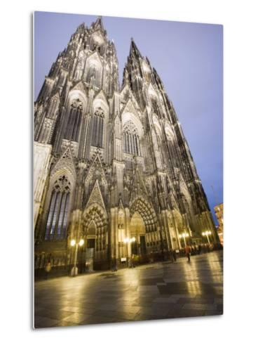 Cathedral, UNESCO World Heritage Site, Cologne, Germany, Europe-Martin Child-Metal Print