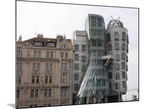 Dancing House, Prague, Czech Republic, Europe-Martin Child-Mounted Photographic Print