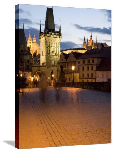 Little Quarter Bridge Tower, Little Quarter, Prague, Czech Republic-Martin Child-Stretched Canvas Print
