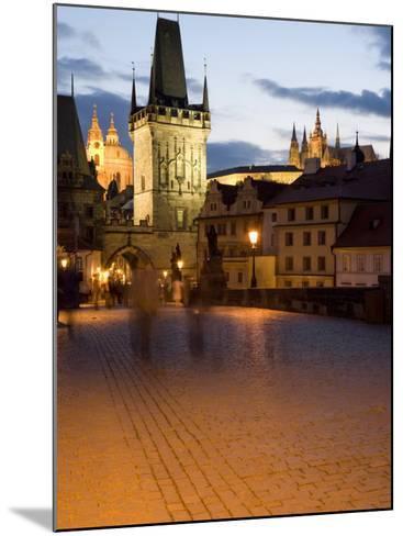 Little Quarter Bridge Tower, Little Quarter, Prague, Czech Republic-Martin Child-Mounted Photographic Print